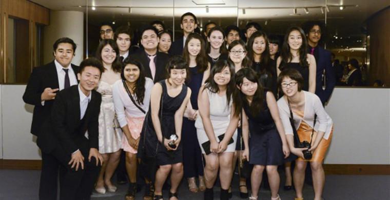 "KIST's ""Class of 2015"" at their graduation dinner. K. INTERnational School"